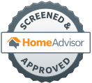 Home Advisor Screen and Approved Logo